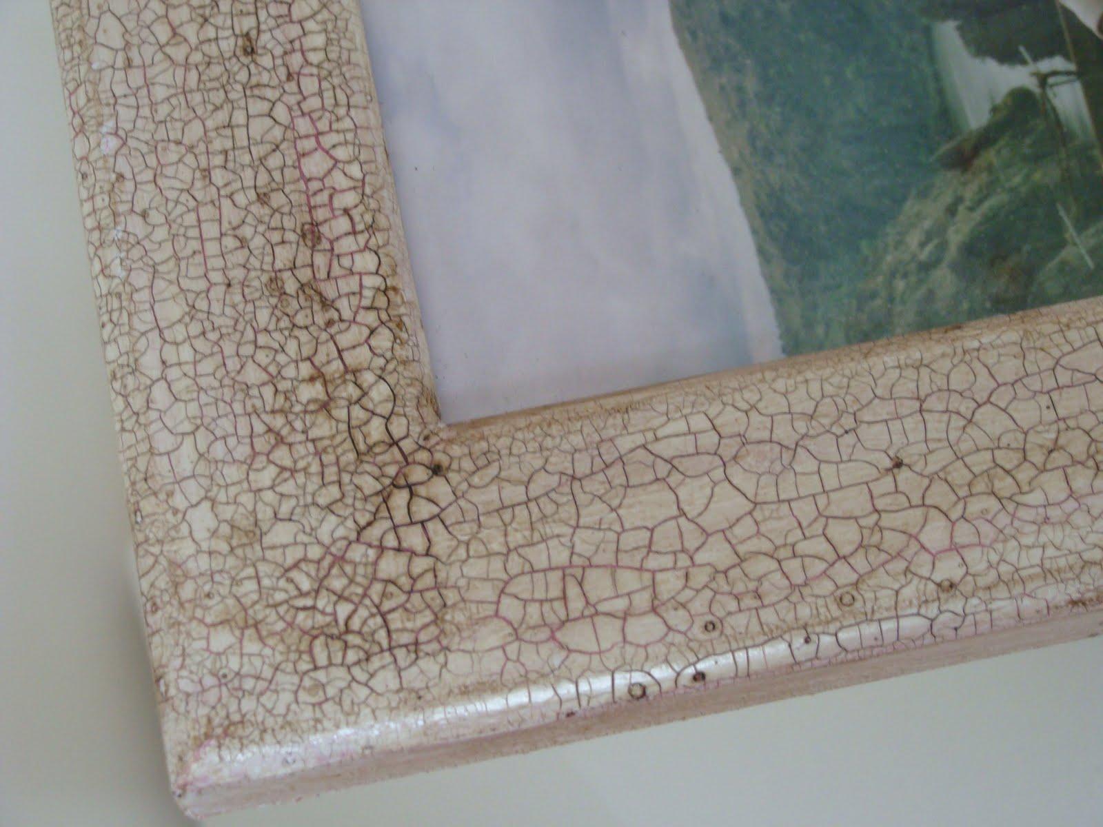 Haizego cuadro de madera craquelado - Craquelado de madera ...