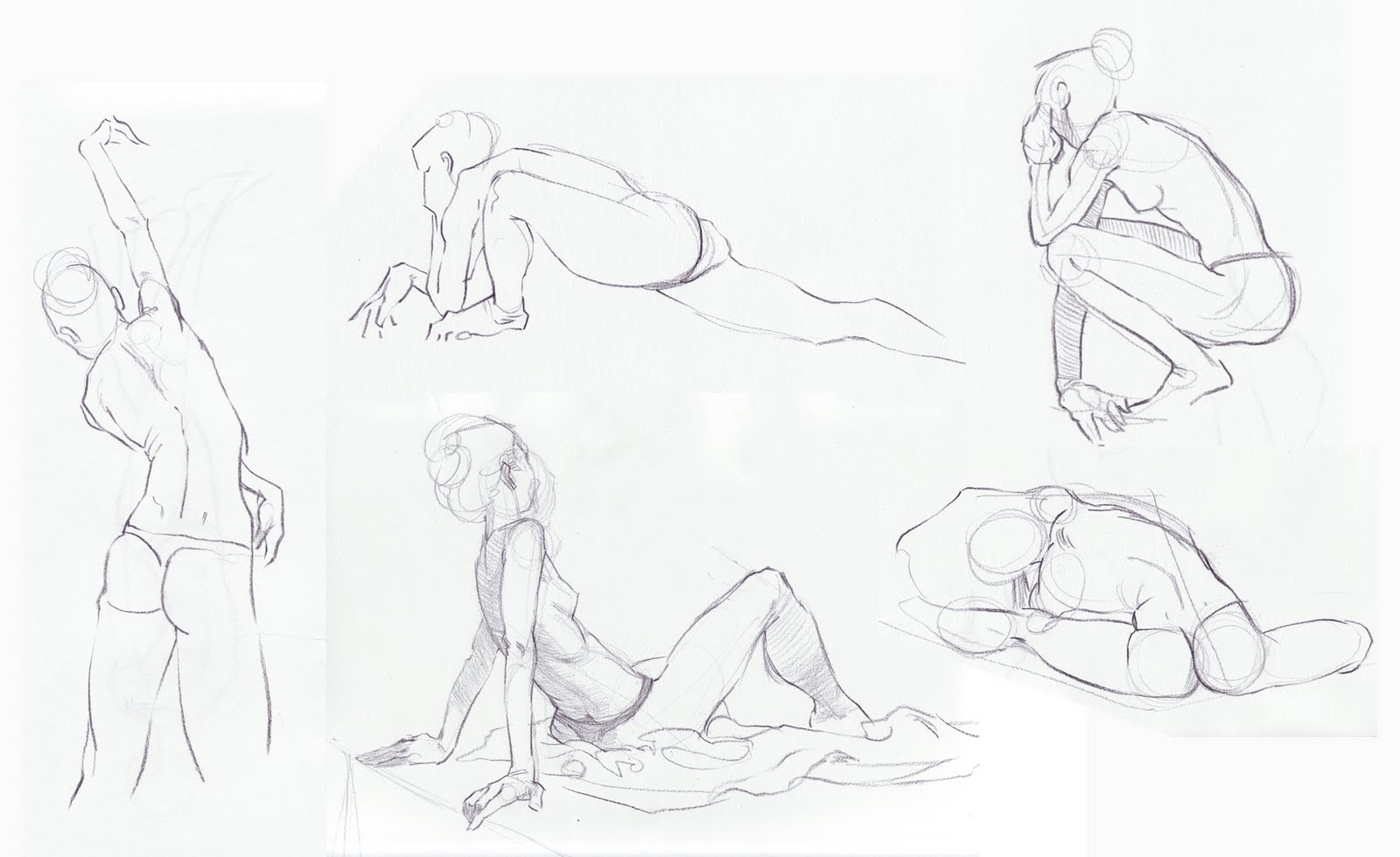 Figure Drawing Dynamic Poses Dynamic Figure Drawing In ...