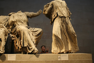 Lord Elgin's big marbles. If lost, return them to Greece!