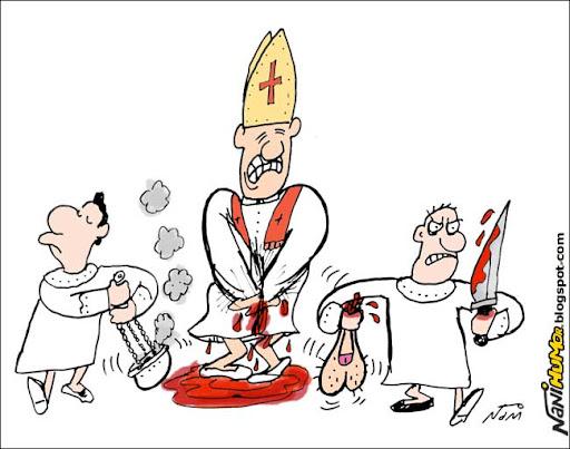 Punição para padres pedófilos