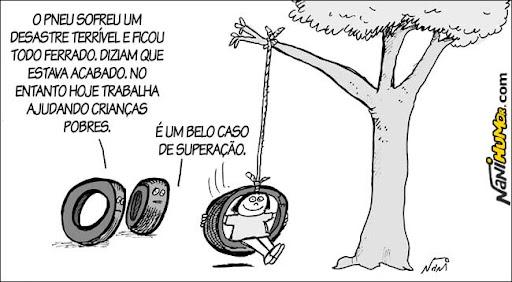 O Humor das Coisas: pneu