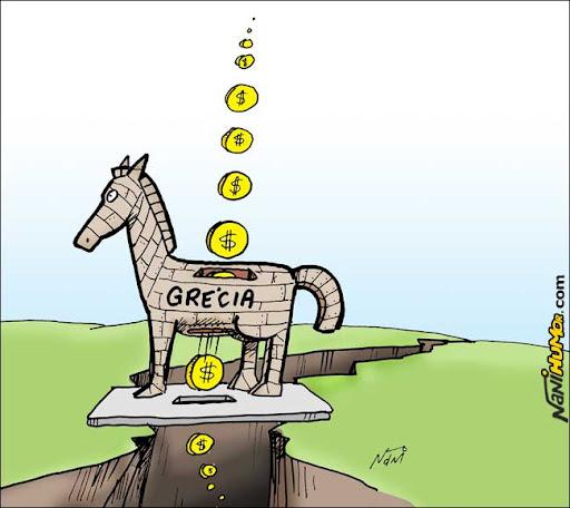 Presente aos gregos