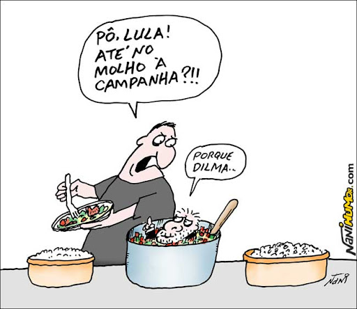 Lula na campanha