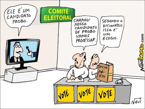 Cuidado com as eleições!