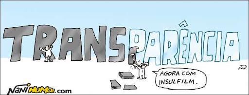 Estatais sem transparência