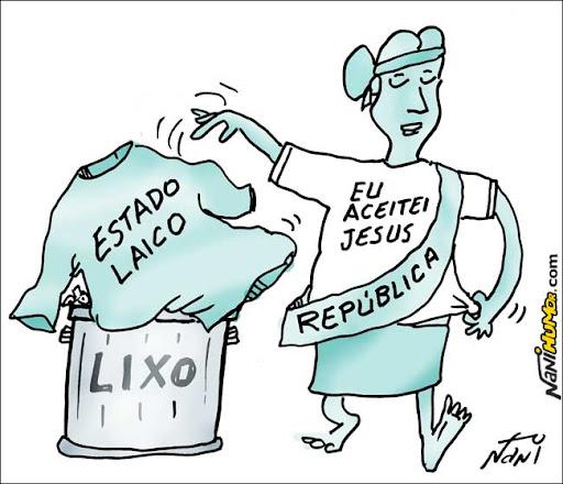 Eleições 2010. A República. Estado Laico