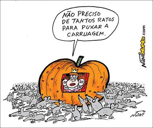 Dilma em: Cinderela em apuros