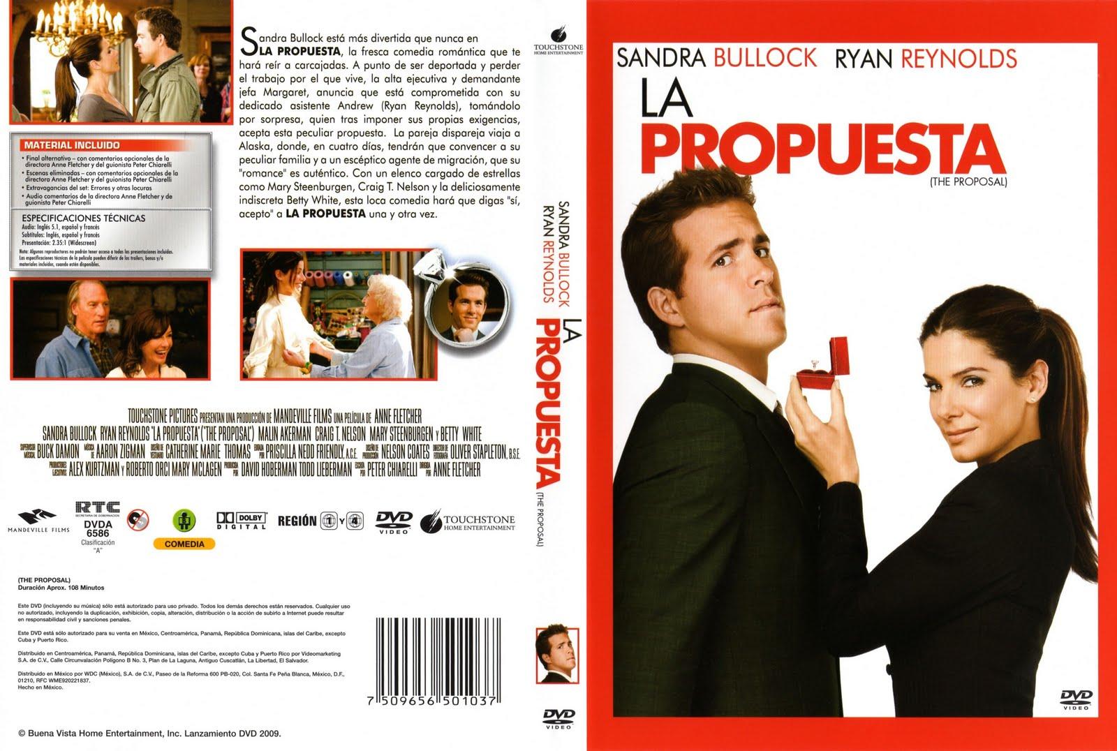 Peliculas DVD: La Propuesta: peliculasdvdrlatino.blogspot.com/2010/06/la-propuesta.html