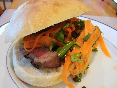 Cathie Cooks Food: Vietnamese Steak Sandwiches