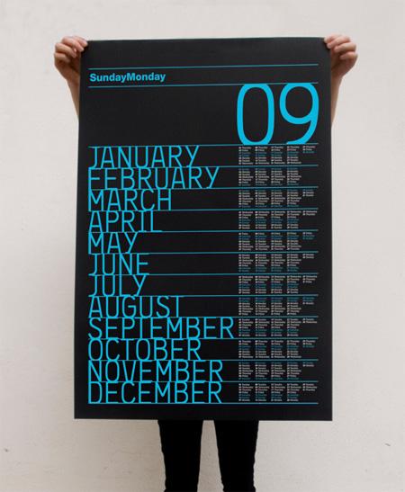 Calendar Design Best : Design context calendar designs