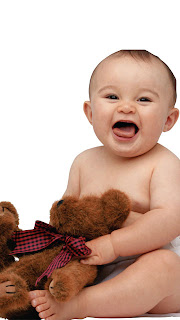 Cute Baby Wallpapers For Nokia 5800 Mobile Phone