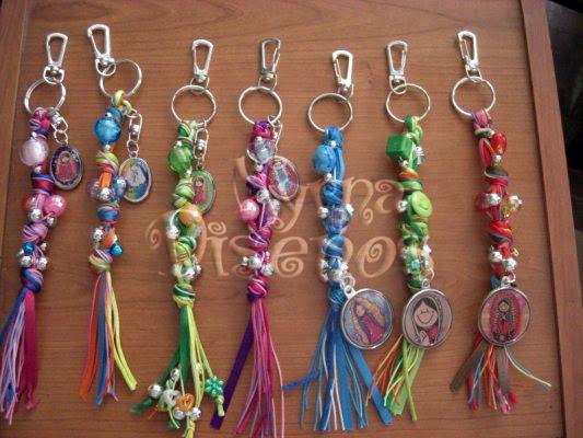 Myrna dise os pulseras y llaveros 2010 for Nudos para colgantes