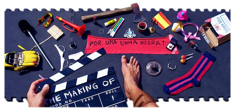 Por Uma Unha Negra - The making of!