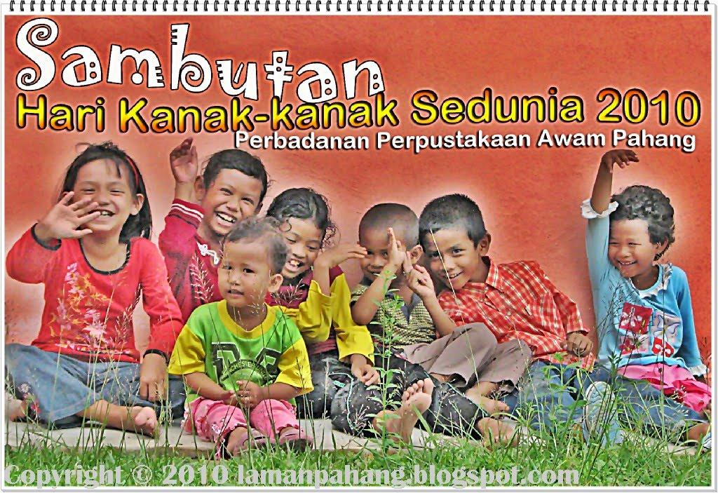 program sambutan hari kanak kanak sedunia bersama perbadanan ...