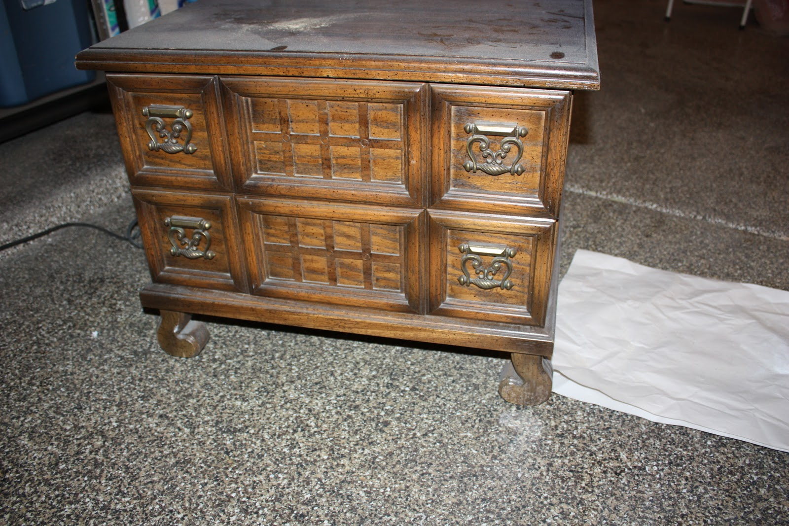 LIFE IN THE CRAFT LANE My first GOODWILL furniture redo