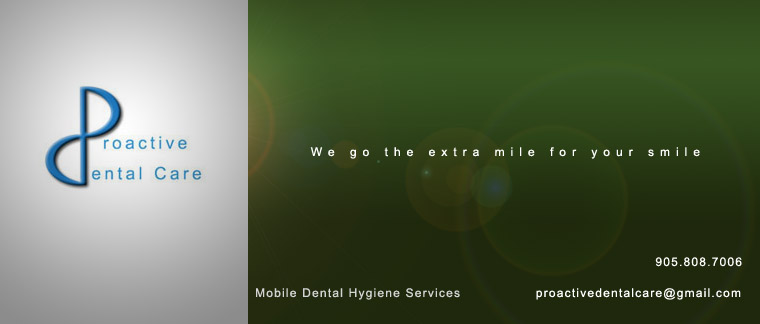Mobile Dental Hygiene Services