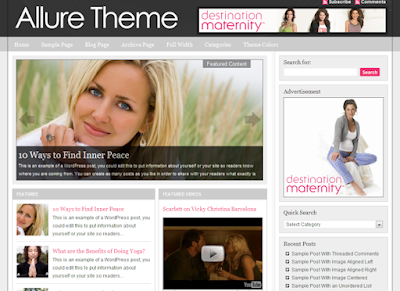 Image for Studiopress Allure Theme