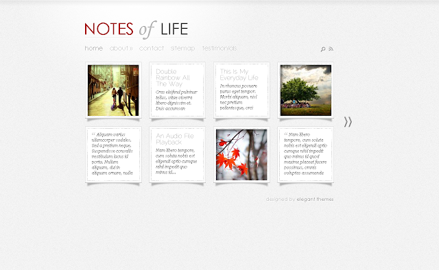 DailyNotes Wordpress Theme by ElegantThemes Free Download.