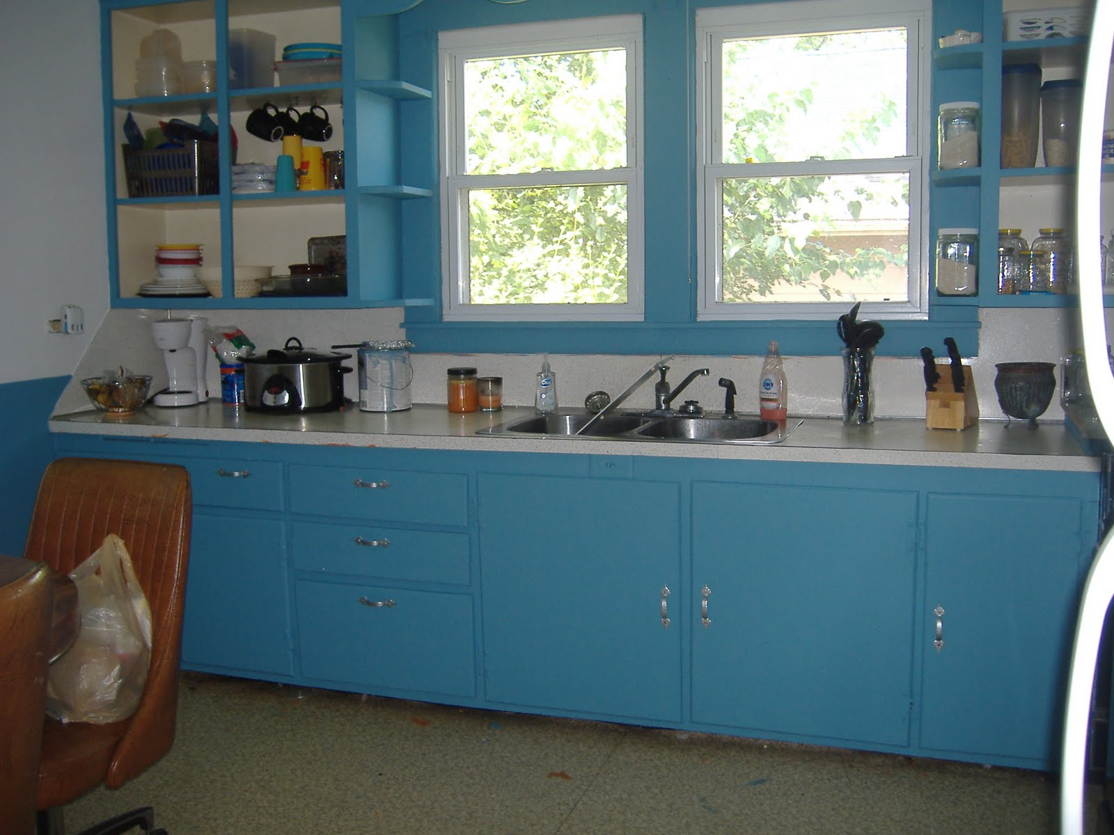 Blue Kitchen CabiColor Ideas