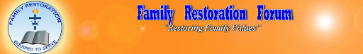 Family Restoration Forum
