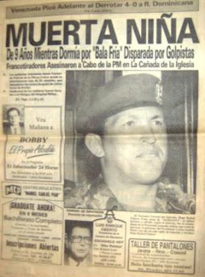 Chavez se olvida que el es un GOLPISTA