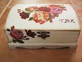 Cajita de las rosas