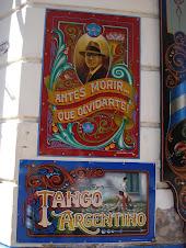 Pasaje Carlos Gardel en el Abasto