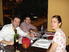 Sarah, Edouard y Derrik