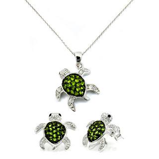 Cubic Zirconia Jewelry Set