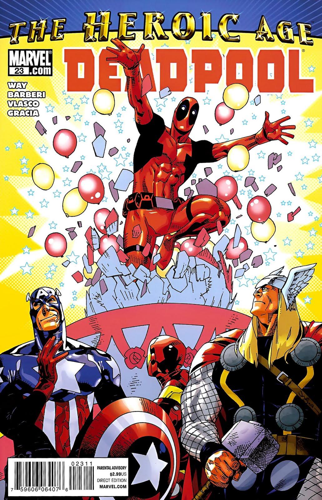 Marvel Deadpool Ausmalbilder Gratis: X-men Supreme: Deadpool #23