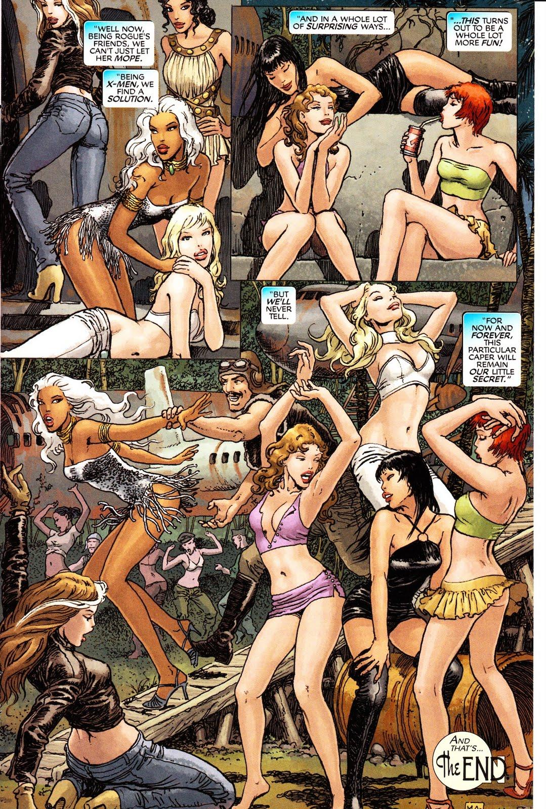 Comic marvel nude woman