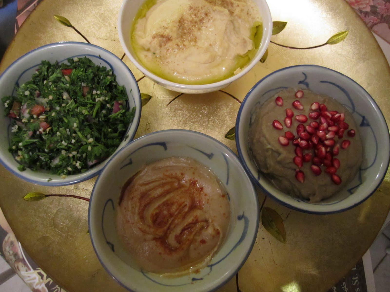 The egyptian kitchen mezze saladsappetizers sunday september 26 2010 forumfinder Images