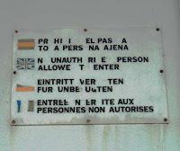 Llengua prohibida