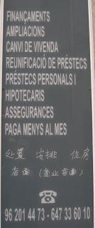 Català i xinés a Carcaixent