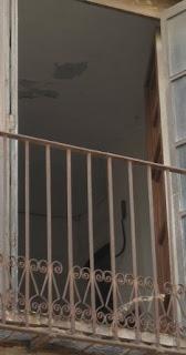 La corbella des del balcó de les traduccions