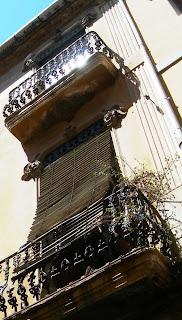 Calina al balcó