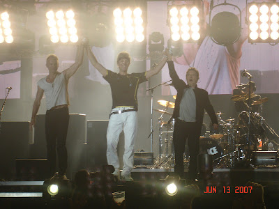 the police reunion tour at the oakland collesium