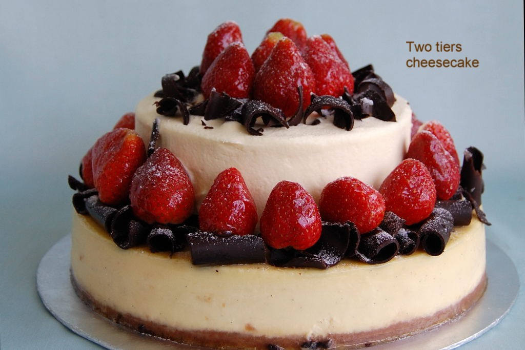 One Cheesecake, Two Cheesecakes, Three Cheesecakes Recipes ...
