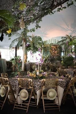 Metro Luxe Events Candice Vallone A Jungle Safari Party