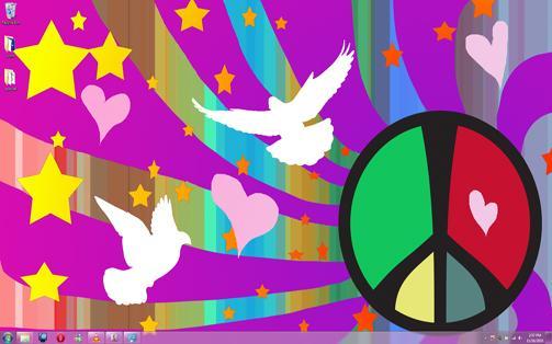 amor y paz hippie. originales de amor y paz,