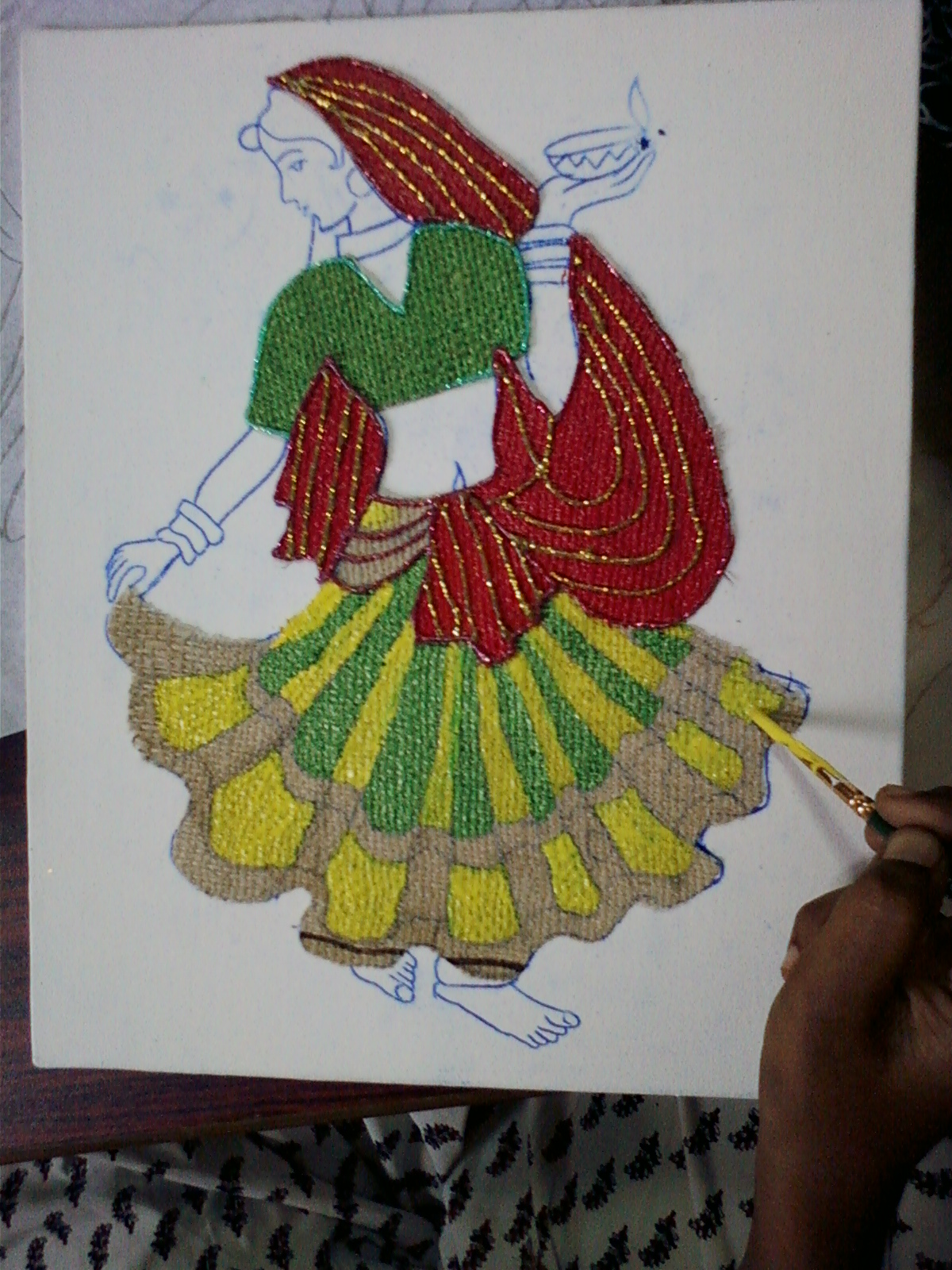 Avni S Art And Crafts Jute Mural