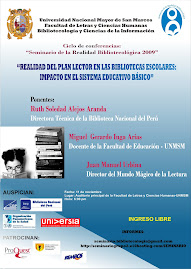 UNMSM, Conferencia sobre el Plan Lector