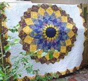 Giant Dahlia Quilt.