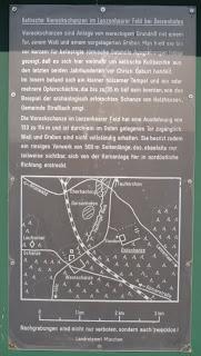 Keltenschanze/Viereckschanze im Lanzenhaarer Feld