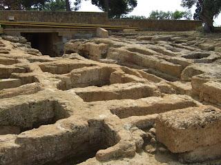 Bild 5: Frühchristliche Nekropole beim Concordiatempel Agrigent