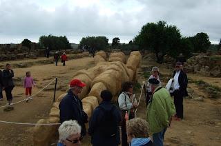 Bild 3 Nachgebildeter Telamon vom Olympieion Agrigent