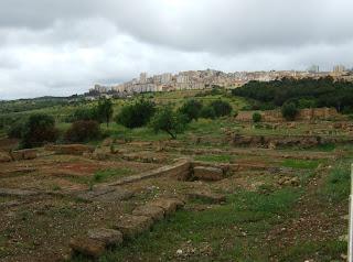 Bild 5: Nordseite Archäologisches Museum Agrigent