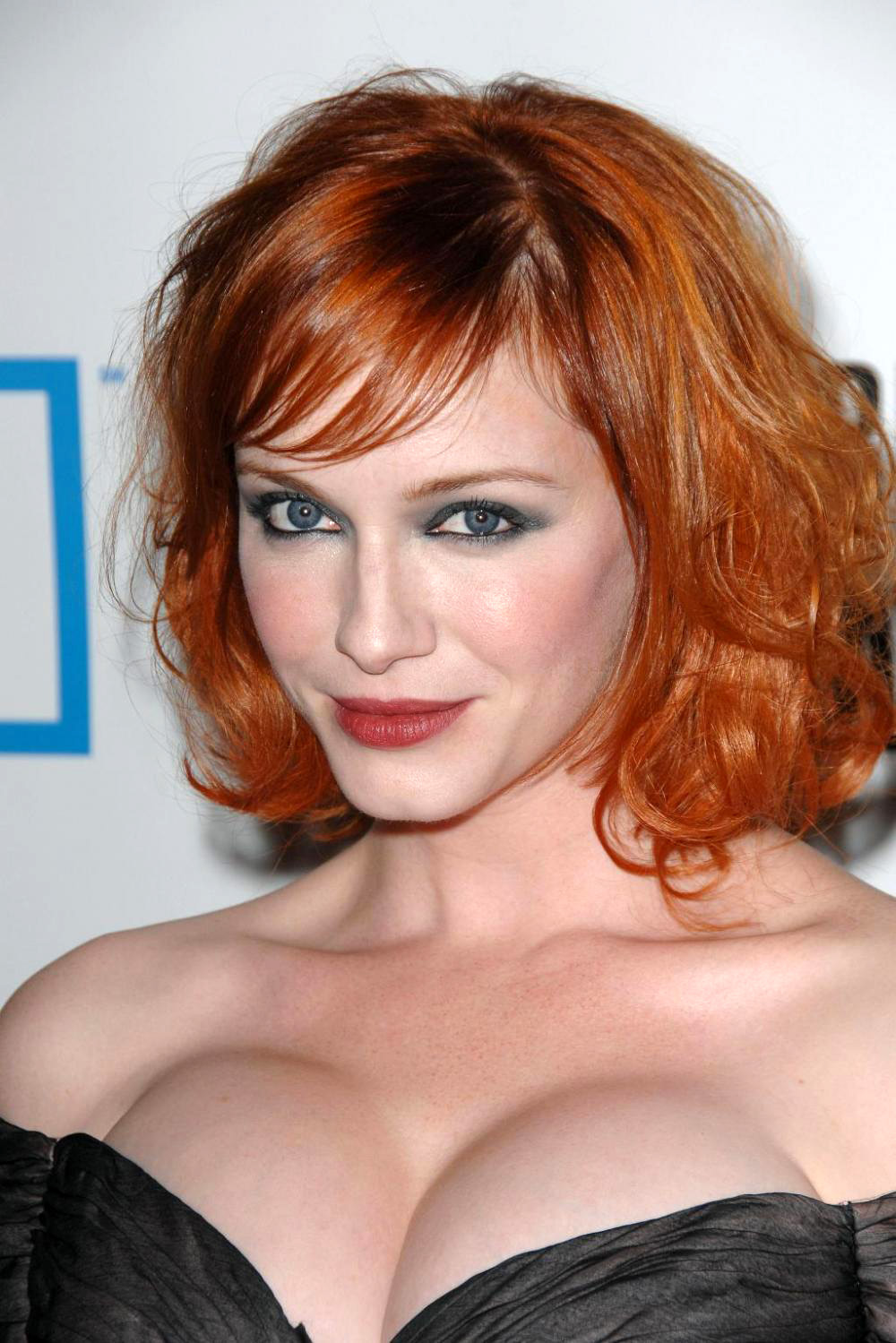 Christina Hendricks Short Hairstyles