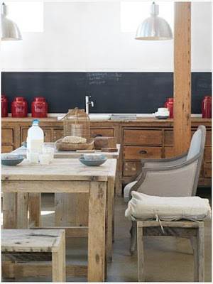 Rustic Kitchen Photos