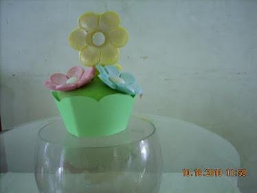 Cupcake Magia de Flores
